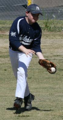 My son, the Yankee