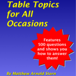 Table Topics for All Occasions