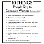 Humor: Answers to annoying questions that people ask writers