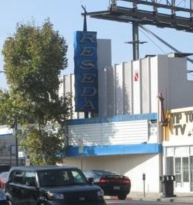 Reseda Theater on Sherman Way