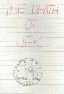 The Death of JFK drawing