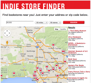 No independent bookstores in the Valley (click to open)