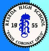 Finis Coronat Opus - Reseda High School Seal