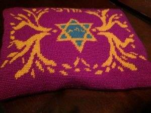 Embroidered tallit bag