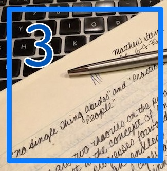Lesson 3 of The How to Be a Writer Series