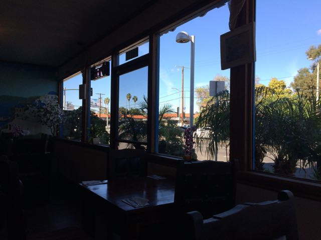View from the Firehouse Restaurant, Reseda