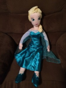 Doll of Elsa from Frozen