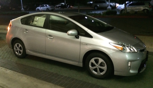 2015 Prius at dealer
