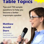 Announcing Mastering Table Topics – Second Edition (and more writing news)