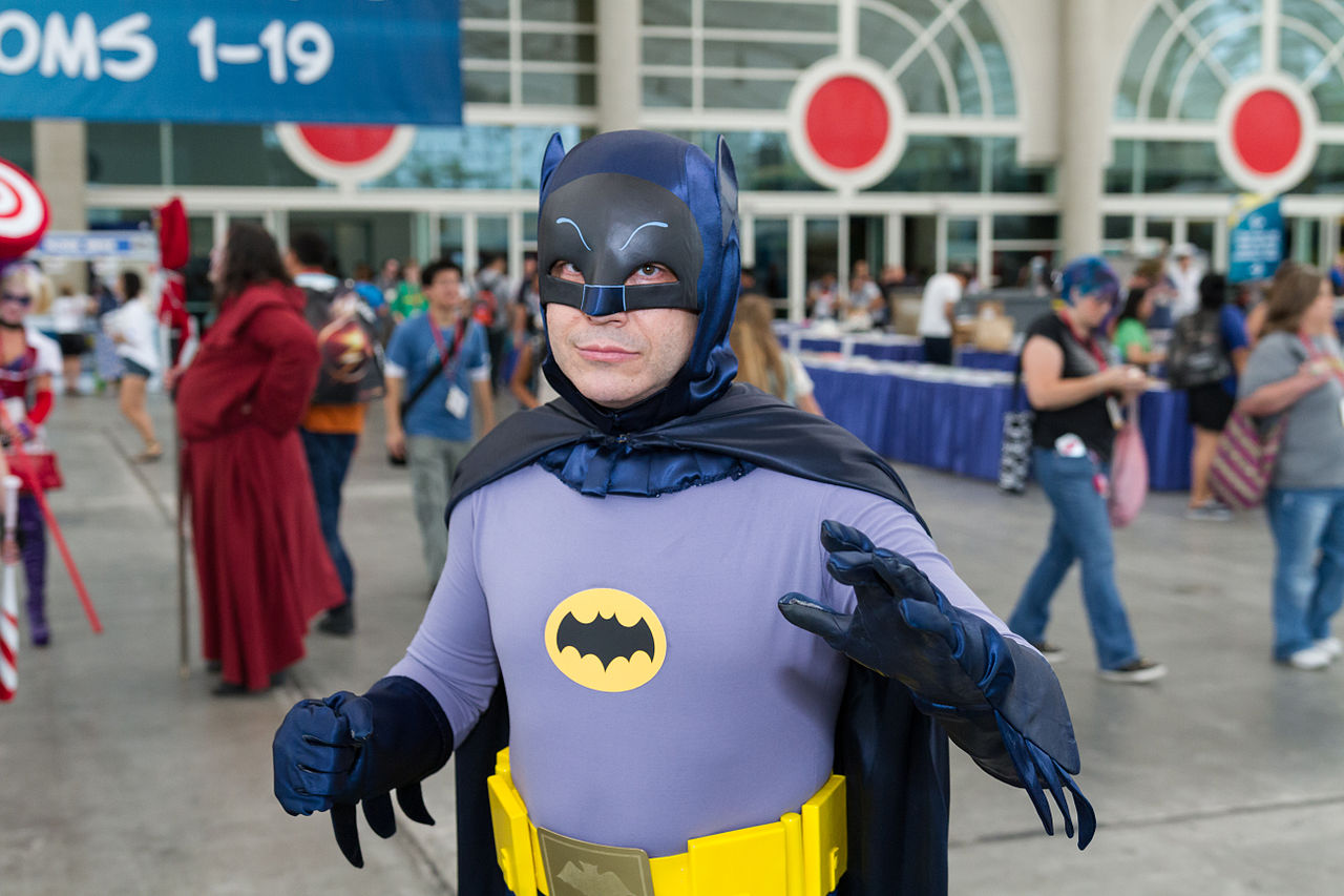 Cosplay at San Diego Comic-Con (SDCC 2014). Photo by Chris Favero through Wikimedia Commons.