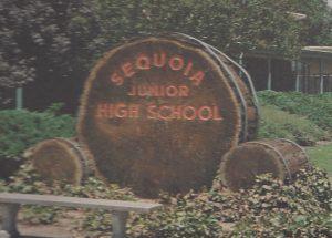 Sequoia Junior High School in 1976