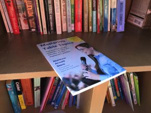 My copy of Mastering Table Topics that I donated to the Little Free Library.