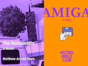 My new novels, The Remainders and Amiga