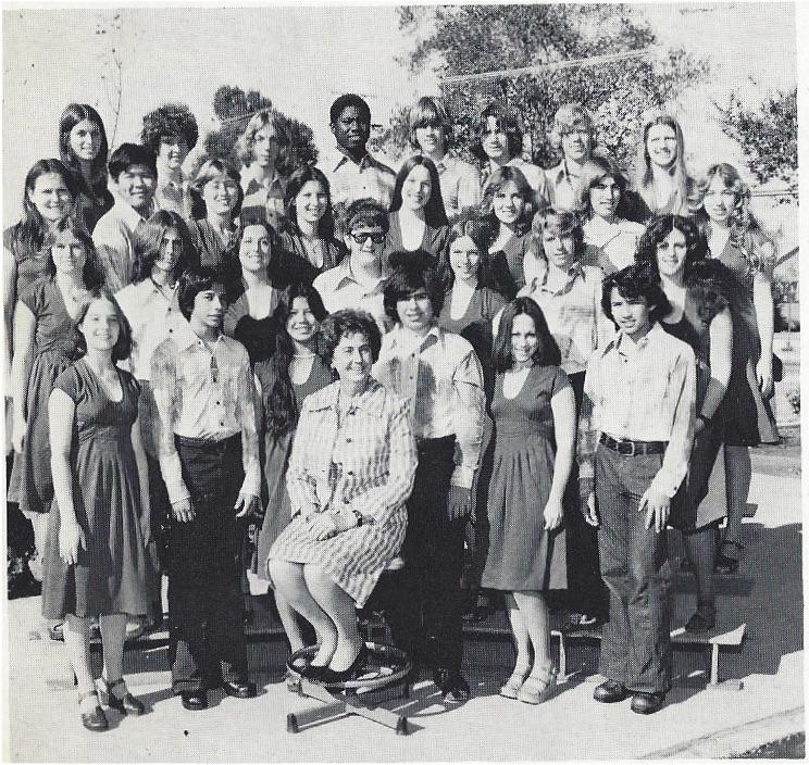 Reseda Vocal Ensemble 1976-77