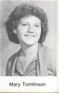 Mary Tomlinson 1961-2017