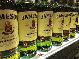 Jameson Whiskey - Image from Pixabay