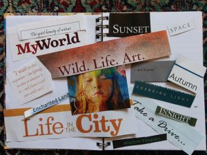 A sample vision board (image from Pixabay)