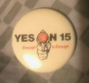 Yes on California Proposition 15, 1982