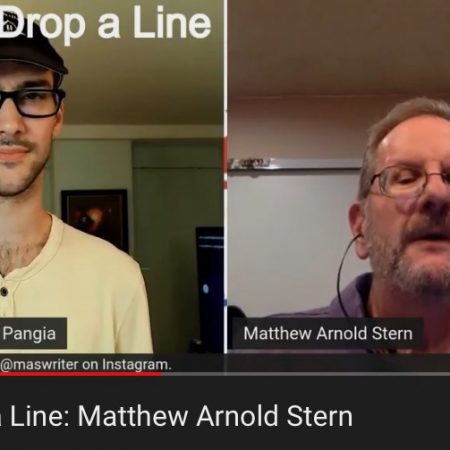 Alec Pangia and me on Drop A Line