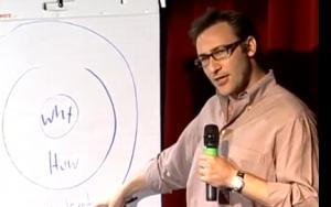 Scott Sinek at TedxPuget Sound in 2010