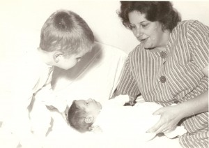 My brother Randy as a baby, 1964
