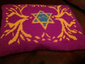 Embroidered tallit bag