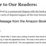 In the Amazon-Hatchette dispute, the readers hold the power