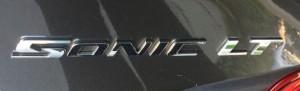 Chevrolet Sonic nameplate