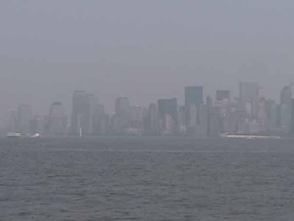 Manhattan Skyline 2002