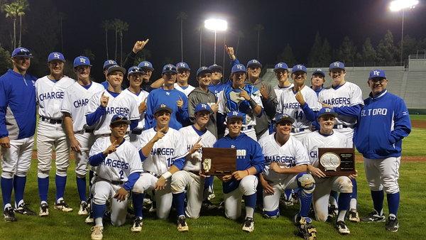 El Toro High School baseball team