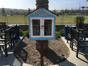 Little Free Library in Lake Forest, CA