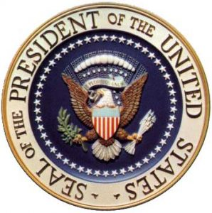 US Presidential Seal (from Wikimedia Commons)