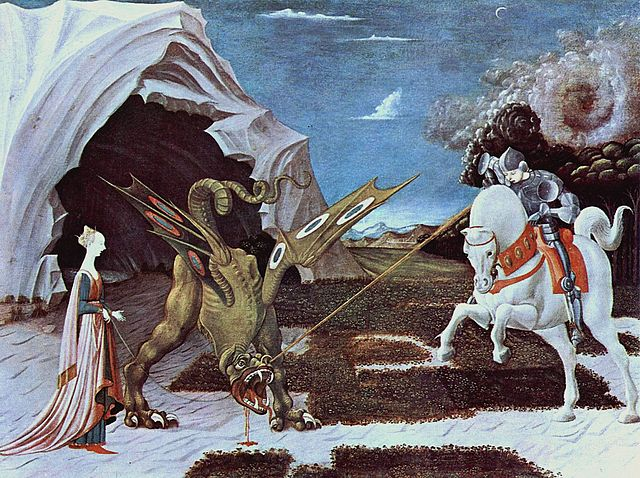 By Paolo Uccello - The Yorck Project: 10.000 Meisterwerke der Malerei. DVD-ROM, 2002. ISBN 3936122202. Distributed by DIRECTMEDIA Publishing GmbH., Public Domain, https://commons.wikimedia.org/w/index.php?curid=159874