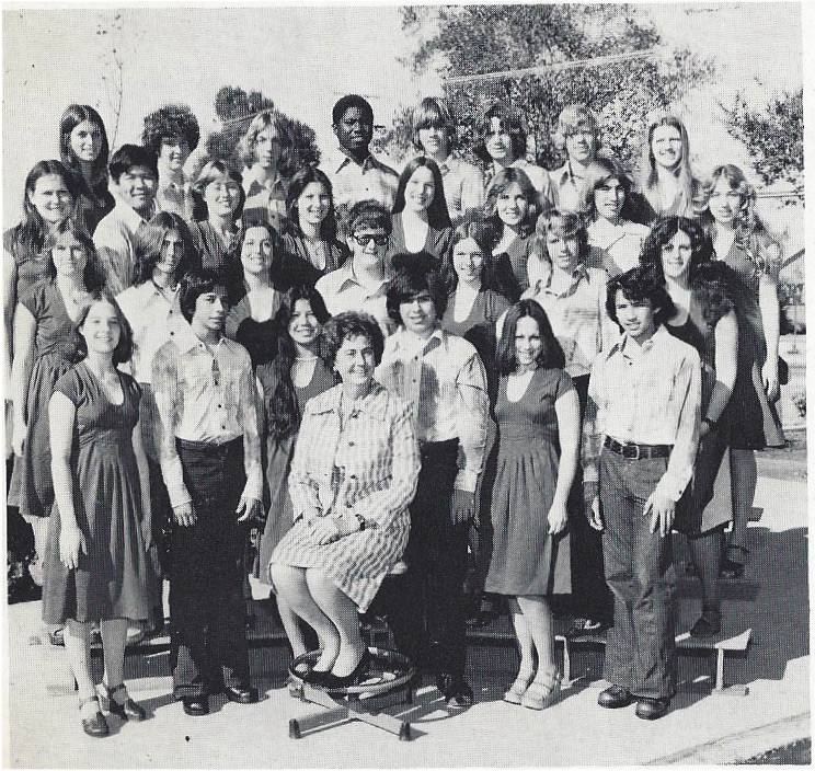 Reseda Vocal Ensemble 1976-77