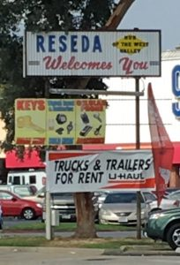 Reseda Welcomes You sign