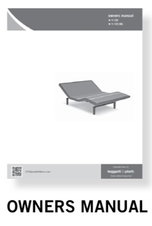 Owner's manual for a new adjustable bed