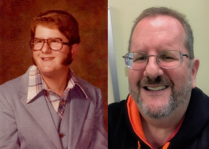 Me at ages 17 and 57.