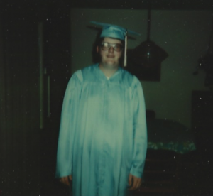 My HS graduation photo