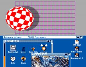 Amiga emulated on a MacBook Pro