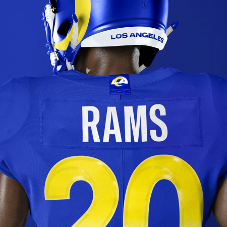Rams New Uniforms (Image from the Los Angeles Rams)