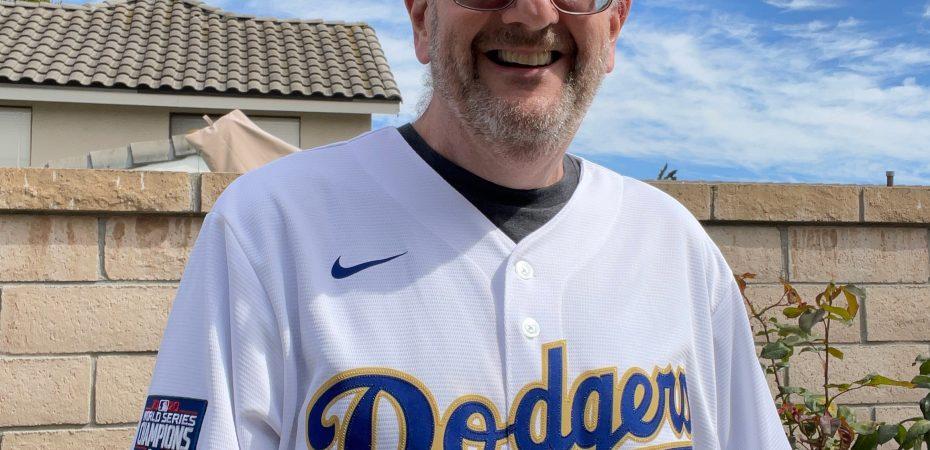 My newest Dodger jersey