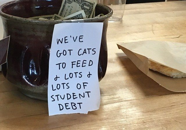 I don't have college debt, but I have a lot of cats...